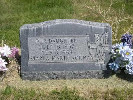 NORMAN, STARLA MARIE - Dawes County, Nebraska | STARLA MARIE NORMAN - Nebraska Gravestone Photos