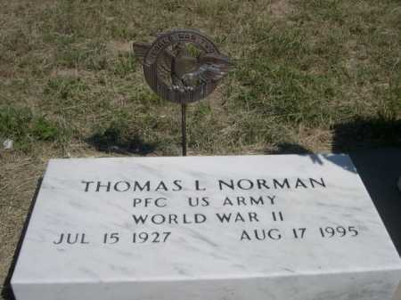 NORMAN, THOMAS L. - Dawes County, Nebraska   THOMAS L. NORMAN - Nebraska Gravestone Photos