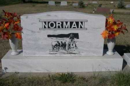 NORMAN, THOMAS LARUE - Dawes County, Nebraska | THOMAS LARUE NORMAN - Nebraska Gravestone Photos