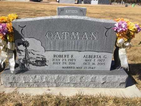 FLETCHER OATMAN, ALBERTA G. - Dawes County, Nebraska   ALBERTA G. FLETCHER OATMAN - Nebraska Gravestone Photos