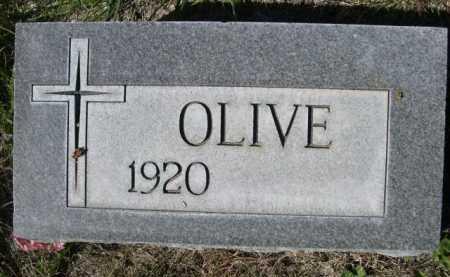 RABEN, OLIVE - Dawes County, Nebraska | OLIVE RABEN - Nebraska Gravestone Photos