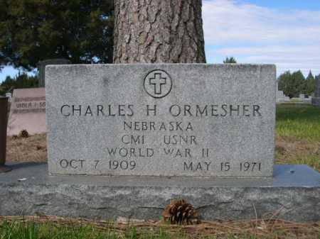ORMESHER, CHARLES H. - Dawes County, Nebraska | CHARLES H. ORMESHER - Nebraska Gravestone Photos