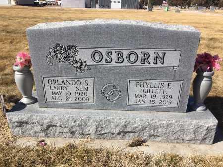 OSBORN, ORLANDO S. - Dawes County, Nebraska | ORLANDO S. OSBORN - Nebraska Gravestone Photos