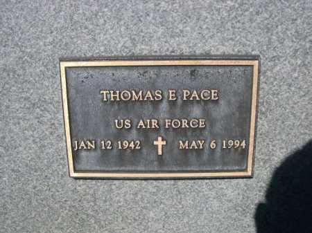 PACE, THOMASE. - Dawes County, Nebraska | THOMASE. PACE - Nebraska Gravestone Photos