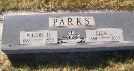 PARKS, WILSON H. - Dawes County, Nebraska   WILSON H. PARKS - Nebraska Gravestone Photos
