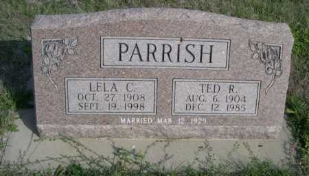 PARRISH, TED R. - Dawes County, Nebraska   TED R. PARRISH - Nebraska Gravestone Photos