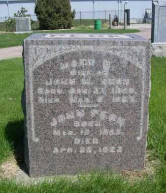 PECK, MARY E. - Dawes County, Nebraska   MARY E. PECK - Nebraska Gravestone Photos