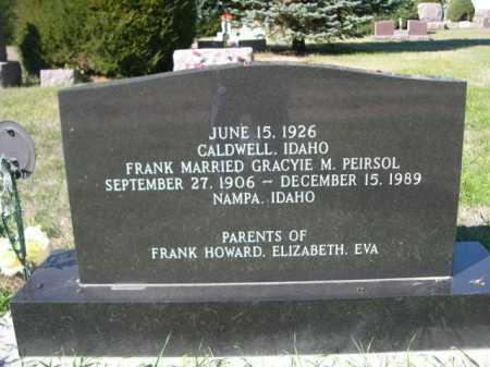 PELREN, FRANK FLOYD - Dawes County, Nebraska | FRANK FLOYD PELREN - Nebraska Gravestone Photos