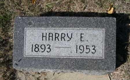 PELREN, HARRY E. - Dawes County, Nebraska   HARRY E. PELREN - Nebraska Gravestone Photos