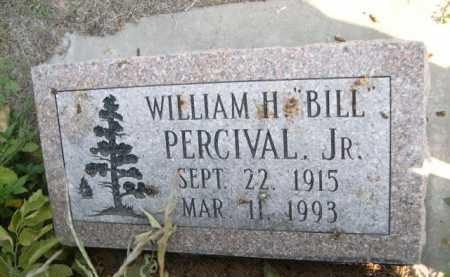 "PERCIVAL, WILLIAM H. JR. ""BILL"" - Dawes County, Nebraska | WILLIAM H. JR. ""BILL"" PERCIVAL - Nebraska Gravestone Photos"
