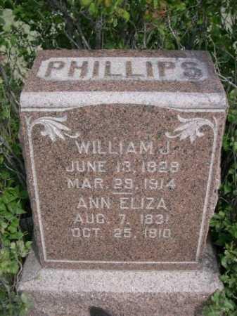 PHILLIPS, ANN ELIZA - Dawes County, Nebraska   ANN ELIZA PHILLIPS - Nebraska Gravestone Photos