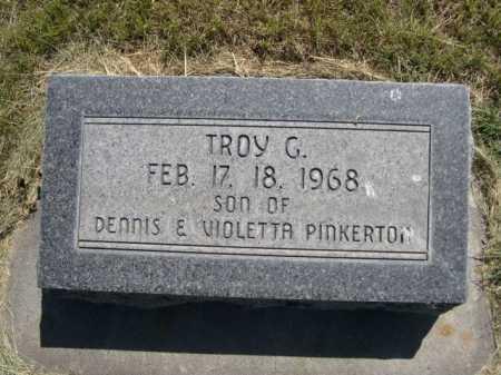 PINKERTON, TROY G - Dawes County, Nebraska | TROY G PINKERTON - Nebraska Gravestone Photos