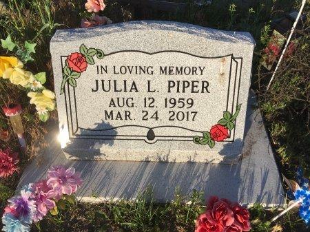 PIPER, JULIA L - Dawes County, Nebraska | JULIA L PIPER - Nebraska Gravestone Photos