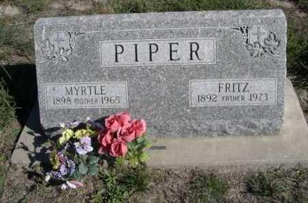 PIPER, FRITZ - Dawes County, Nebraska   FRITZ PIPER - Nebraska Gravestone Photos