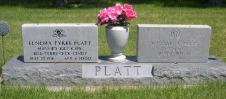 PLATT, WILLIAM A. - Dawes County, Nebraska   WILLIAM A. PLATT - Nebraska Gravestone Photos