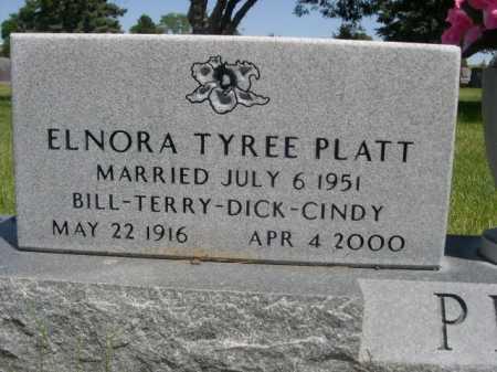 PLATT, ELNORA - Dawes County, Nebraska | ELNORA PLATT - Nebraska Gravestone Photos