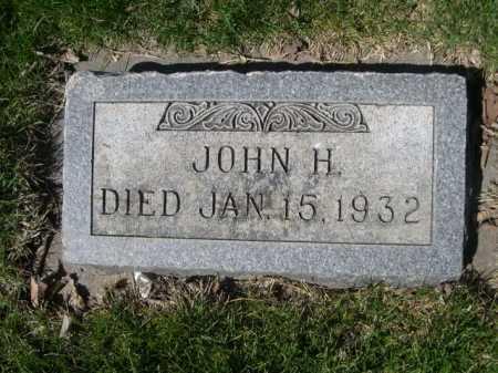 PLATT, JOHN H. - Dawes County, Nebraska | JOHN H. PLATT - Nebraska Gravestone Photos