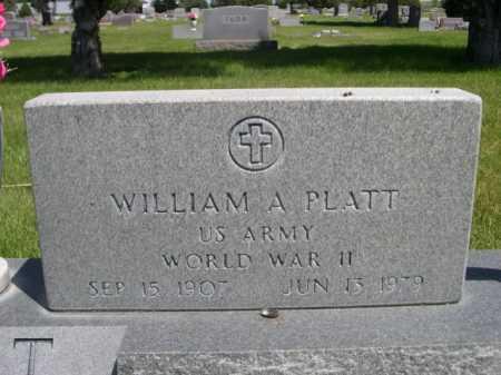 PLATT, WILLIAM - Dawes County, Nebraska | WILLIAM PLATT - Nebraska Gravestone Photos
