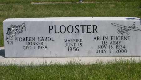 PLOOSTER, ARLIN EUGENE - Dawes County, Nebraska   ARLIN EUGENE PLOOSTER - Nebraska Gravestone Photos