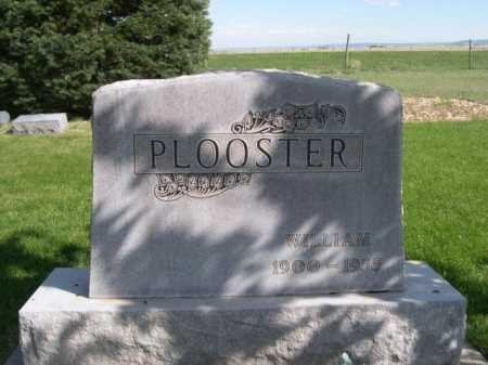 PLOOSTER, WILLIAM - Dawes County, Nebraska | WILLIAM PLOOSTER - Nebraska Gravestone Photos