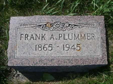 PLUMMER, FRANK A. - Dawes County, Nebraska   FRANK A. PLUMMER - Nebraska Gravestone Photos