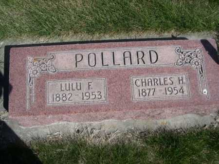 POLLARD, CHARLES H. - Dawes County, Nebraska   CHARLES H. POLLARD - Nebraska Gravestone Photos