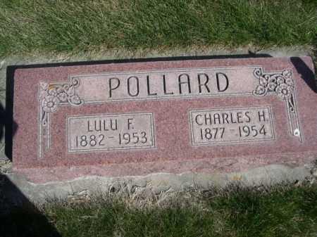 POLLARD, LULU F. - Dawes County, Nebraska | LULU F. POLLARD - Nebraska Gravestone Photos