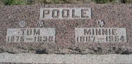 POOLE, TOM - Dawes County, Nebraska | TOM POOLE - Nebraska Gravestone Photos