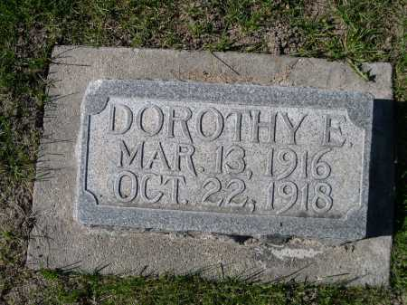 POPE, DOROTHY E. - Dawes County, Nebraska | DOROTHY E. POPE - Nebraska Gravestone Photos