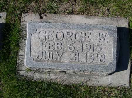 POPE, GEORGE W. - Dawes County, Nebraska | GEORGE W. POPE - Nebraska Gravestone Photos
