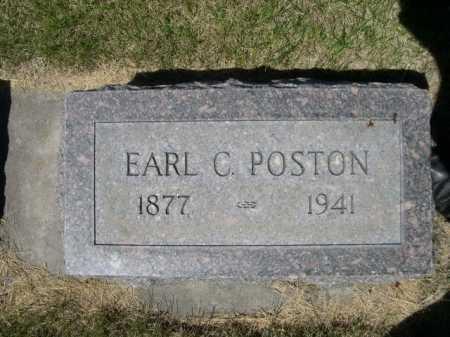 POSTON, EARL C. - Dawes County, Nebraska   EARL C. POSTON - Nebraska Gravestone Photos