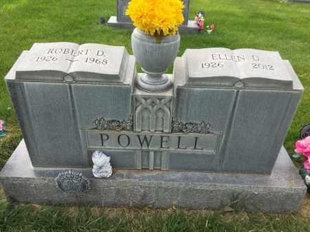 POWELL, ROBERT D. - Dawes County, Nebraska   ROBERT D. POWELL - Nebraska Gravestone Photos