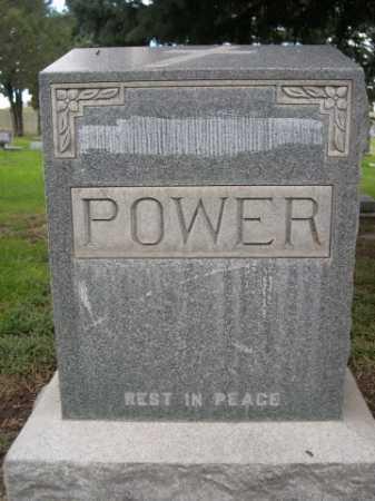 POWER, FAMILY - Dawes County, Nebraska | FAMILY POWER - Nebraska Gravestone Photos