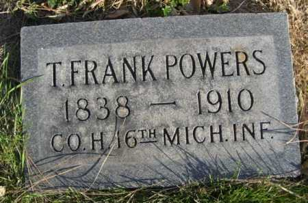 POWERS, T. FRANK - Dawes County, Nebraska | T. FRANK POWERS - Nebraska Gravestone Photos