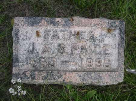 PRICE, J.A.B. PRICE - Dawes County, Nebraska   J.A.B. PRICE PRICE - Nebraska Gravestone Photos