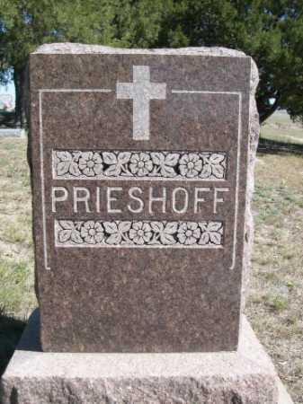 PRIESHOFF, FAMILY - Dawes County, Nebraska | FAMILY PRIESHOFF - Nebraska Gravestone Photos