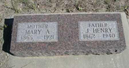 PRIESHOFF, MARY A. - Dawes County, Nebraska | MARY A. PRIESHOFF - Nebraska Gravestone Photos