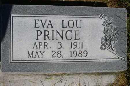 PRINCE, EVA LOU - Dawes County, Nebraska   EVA LOU PRINCE - Nebraska Gravestone Photos