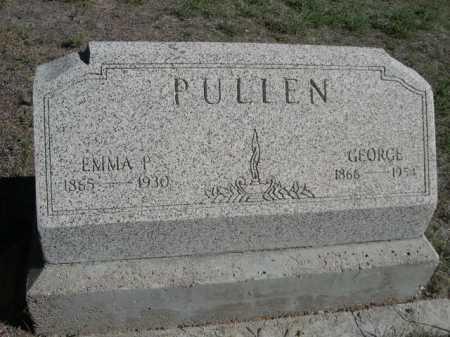 PULLEN, GEORGE - Dawes County, Nebraska   GEORGE PULLEN - Nebraska Gravestone Photos