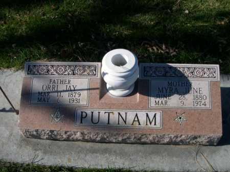 PUTNAM, MYRA JUNE - Dawes County, Nebraska | MYRA JUNE PUTNAM - Nebraska Gravestone Photos
