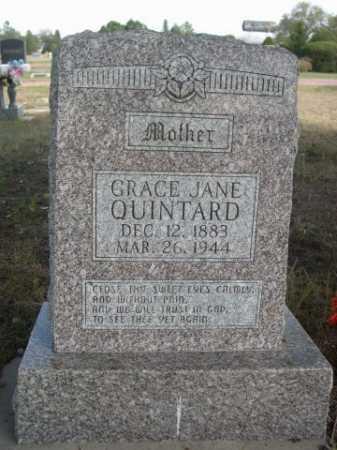 QUINTARD, GRACE JANE - Dawes County, Nebraska   GRACE JANE QUINTARD - Nebraska Gravestone Photos