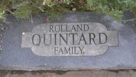 QUINTARD, ROLLAND FAMILY - Dawes County, Nebraska | ROLLAND FAMILY QUINTARD - Nebraska Gravestone Photos