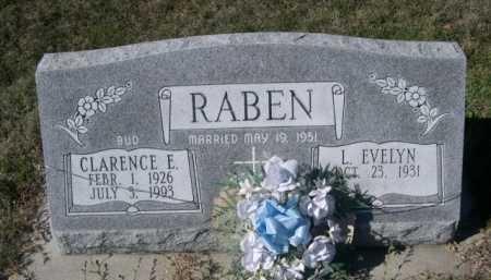 RABEN, L. EVELYN - Dawes County, Nebraska | L. EVELYN RABEN - Nebraska Gravestone Photos