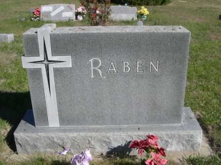 RABEN, FAMILY - Dawes County, Nebraska | FAMILY RABEN - Nebraska Gravestone Photos