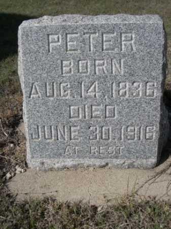 RABEN, PETER - Dawes County, Nebraska   PETER RABEN - Nebraska Gravestone Photos