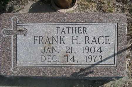 RACE, FRANK H. - Dawes County, Nebraska | FRANK H. RACE - Nebraska Gravestone Photos