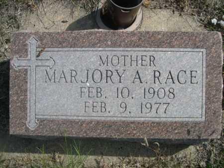 RACE, MARJORY A. - Dawes County, Nebraska | MARJORY A. RACE - Nebraska Gravestone Photos