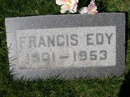 RANDALL, FRANCIS EDY - Dawes County, Nebraska | FRANCIS EDY RANDALL - Nebraska Gravestone Photos