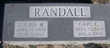 RANDALL, GOLDIE M. - Dawes County, Nebraska | GOLDIE M. RANDALL - Nebraska Gravestone Photos