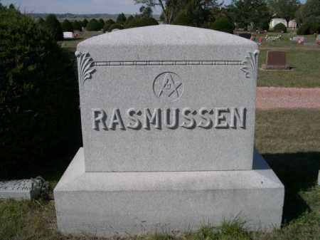 RASMUSSEN, FAMILY - Dawes County, Nebraska | FAMILY RASMUSSEN - Nebraska Gravestone Photos